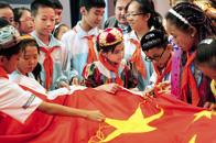 总书记与红领巾相约中国梦