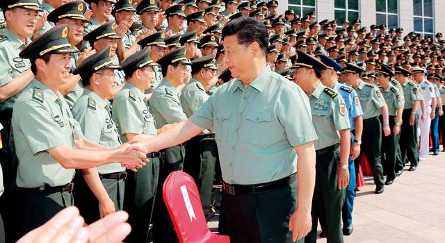 习近平:在新的起点上加快推进陆军转型建设,努力建设一支强大的现代化新型陆军