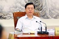 张德江:主持召开十二届全国人大常委会第七十三次委员长会议