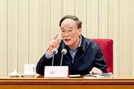 王岐山:紧紧围绕坚持党的领导,全面从严治党深化政治巡视, 坚决维护以习近平同志为核心的党中央权威