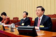 张德江:深化国家监察体制改革是以习近平同志为核心的党中央作出的一项重大决策