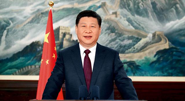国家主席习近平发表二〇一七年新年贺词