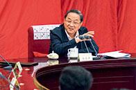 俞正声:制定双周协商座谈会工作规则,既是推进政协协商议政工作制度化、规范化、程序化建设,也是对十二届全国政协履职实践的总结,为今后工作提供参考和依据