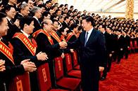 习近平:坚定不移走中国特色社会主义社会治理之路,善于把党的领导和我国社会主义制度优势转化为社会治理优势,不断完善中国特色社会主义社会治理体系,确保人民