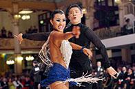 国际标准舞巅峰赛场的中国身影