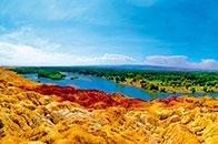 新疆五彩灘——大自然手中的調色盤