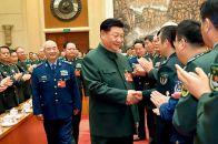 習近平出席解放軍和武警部隊代表團全體會議