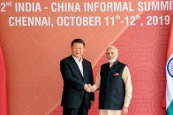 习近平主席赴印度出席中印领导人第二次非正式会晤
