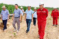 中燃员工突击完成气代煤工程 邯郸农民迎来清洁取暖新生活